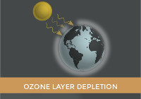 Increased greenhouse gas emissions: Nitrous oxide damages the ozone layer and is now the most important ozone depleting substance and the largest cause of ozone layer depletion.